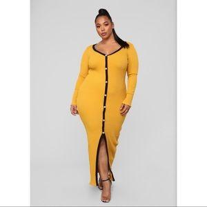 Fashion Nova Knit Maxi Dress